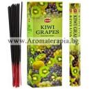 Hem Kiwi-Grapes Incense Sticks