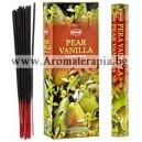 Hem Pear-Vanilla Incense Sticks