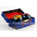 Feng Shui Baoding Longevity Iron Health Balls