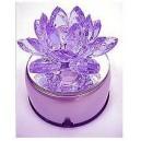 Фън Шуй Лотос кристал цветен