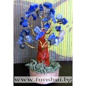 Фън Шуй Дърво на Осъзнаването (Лазурит)