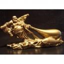 Laughing Buddha Holding Sack of Wealth