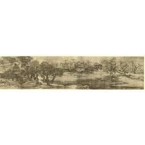 По реката в деня на Задушница - Джан Дзъдуан (1085-1145 година) Along the River During the Qingming Festival